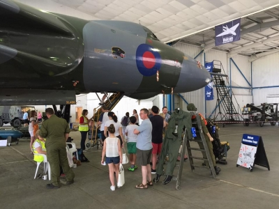Visit the Vulcan Day on 20 August