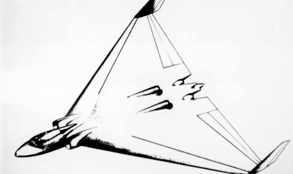 Early design drawing of the Avro Type 698 (Avro)