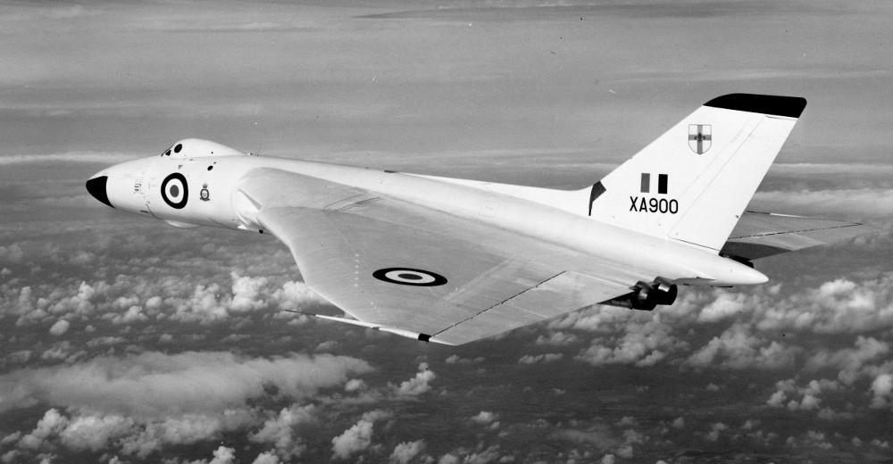 XA900 of 230 Operation Conversion Unit, RAF Waddington. (Crown Copyright)