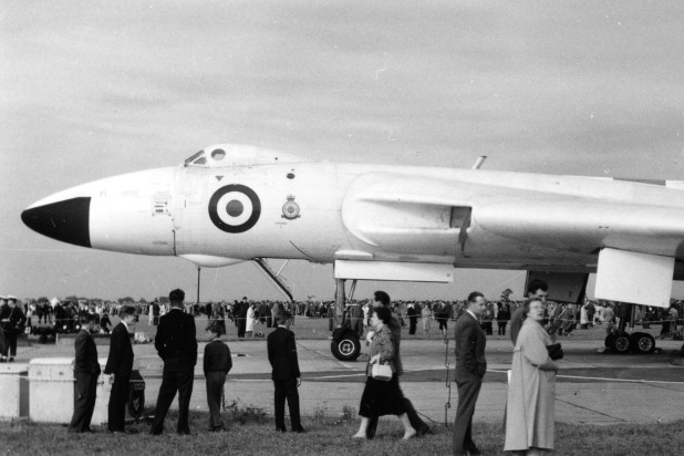 XH504 in the static display at RAF Waddington on 17 September 1960. (Brian Goulding)