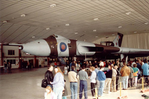 Open Weekend in the BAF hangar - Easter 1991