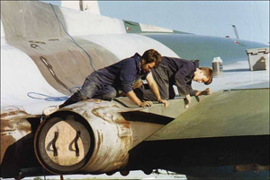 First repaint begins, 1994