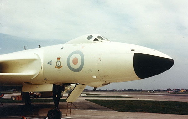 XL426 at the RAF Finningley Battle of Britain Day in September 1963 (Group Captain John Slessor)