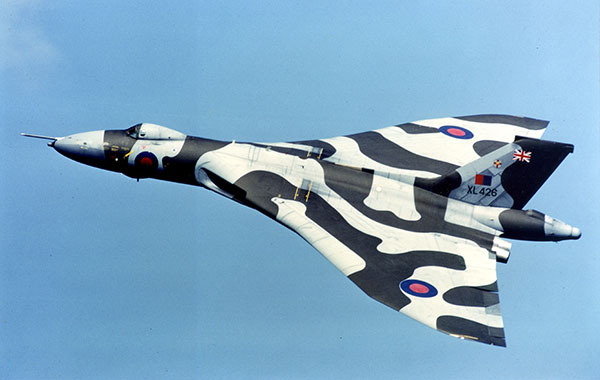 With the Vulcan Display Flight at the RAF St Athan Open Day 1984 (Chris Brooks)